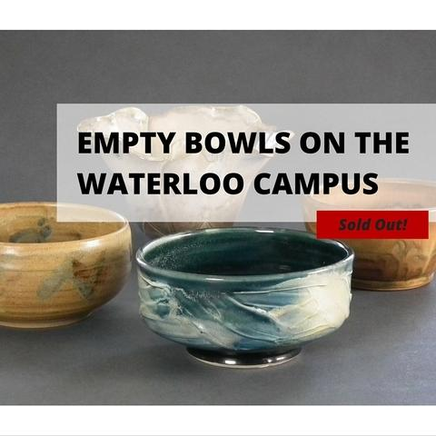 Empty Bowls on the Waterloo Campus: Sold Out