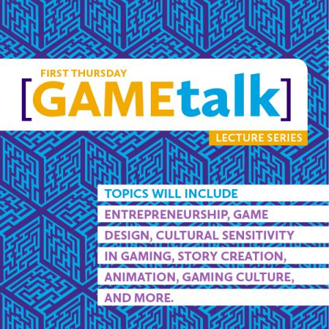 Game talk series poster