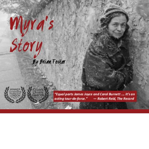 Myra's story - image of Myra in the cold