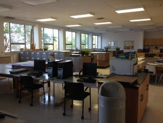 Picture of the Geography Resource Centre interior