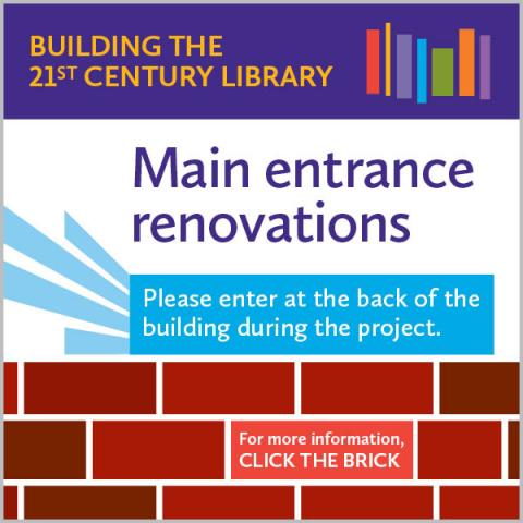 Main entrance renovations