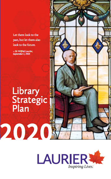 Library Strategic Plan brochure cover